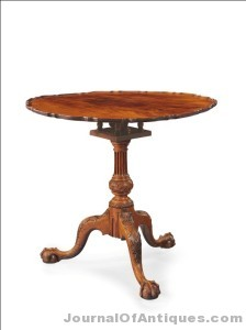 Chippendale tea table, $905,000, Christie's