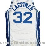 Christian Laettner jersey, $119,500, Lelands.com