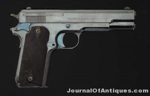 Colt Model 1909 pistol, $96,000, Morphy Auctions