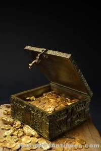 A Treasure Chest Filled with Gold and Jewels Waiting to be Found