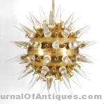 Monumental 'Sputnik' chandelier, $38,400, Palm Beach Modern Auctions