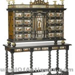 Rosewood cabinet, $149,000, Bonhams