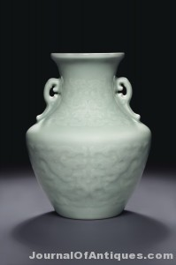 Gavels 'n' Paddles: Chinese archaistic vase, $1.445 million, Christie's