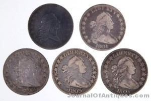Gavels 'n' Paddles: Five half-dollar coins, $4,313, Jeffrey S. Evans