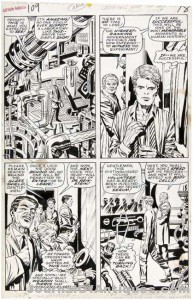 Gavels 'n' Paddles: Jack Kirby art, $43,320, Hake's