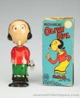 Ninety Five Years of Olive Oyl