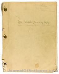 Gavels 'n' Paddles: Script, Citizen Kane, $164,229, Sotheby's