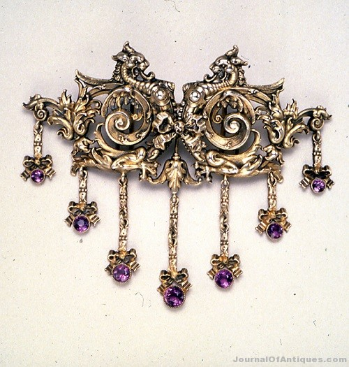 The Antique Jewelry Marketplace - City of Silver and Gold from Tiffany to Cartier