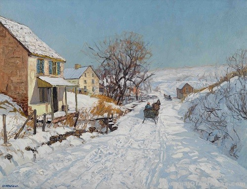 Gavels 'n' Paddles: Edward Redfield oil, $710,500, Freeman's