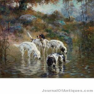 Gavels 'n' Paddles: Percival Rousseau work, $93,750, Doyle New York