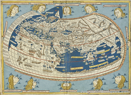 Gavels 'n' Paddles: Ptolemy world map, $317,000, Christie's