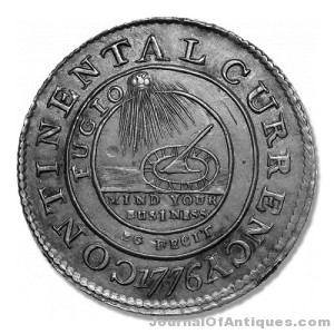 Gavels 'n' Paddles: 1776 U.S. silver dollar, $1.41 million, Heritage