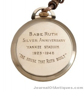 Gavels 'n' Paddles: Babe Ruth pocket watch, $650,108, SCP Auctions