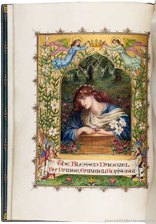 Gavels 'n' Paddles: Dante Rossetti manuscript, $30,000, PBA Galleries