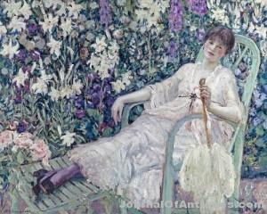 Gavels 'n' Paddles: Frieseke oil painting, $962,500, Bonhams