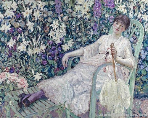 Gavels 'n' Paddles: Frieseke oil painting, $962,500, Bonhams