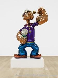 Gavels 'n' Paddles: Koons Popeye sculpture, $28.2 million, Sotheby's