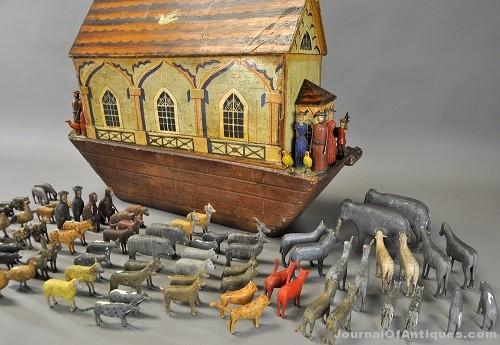 Gavels 'n' Paddles: Noah's Ark toy set, $16,250, Bertoia's