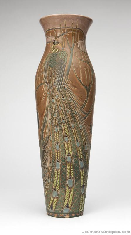 Gavels 'n' Paddles: Rhead art pottery vase, $570,000, John Moran
