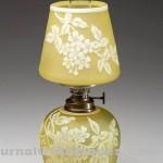 Gavels 'n' Paddles: Art glass miniature lamp, $11,500, Jeffrey S. Evans