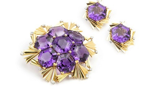 Gavels 'n' Paddles: Assembled jewelry set, $19,200, John Moran