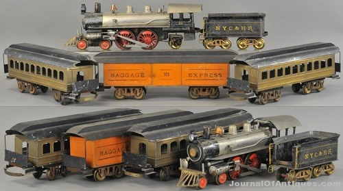 Gavels 'n' Paddles: Carlisle & Finch train set, $46,020, Bertoia Auctions