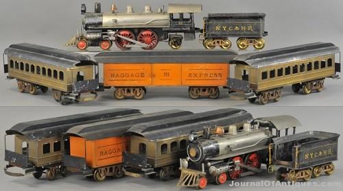 Gavels 'n' Paddles: Carlisle & Finch train set, $46,020, Bertoia Auctions