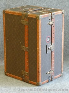 Gavels 'n' Paddles: Rare Louis Vuitton trunk, $16,100, Carlsen Gallery