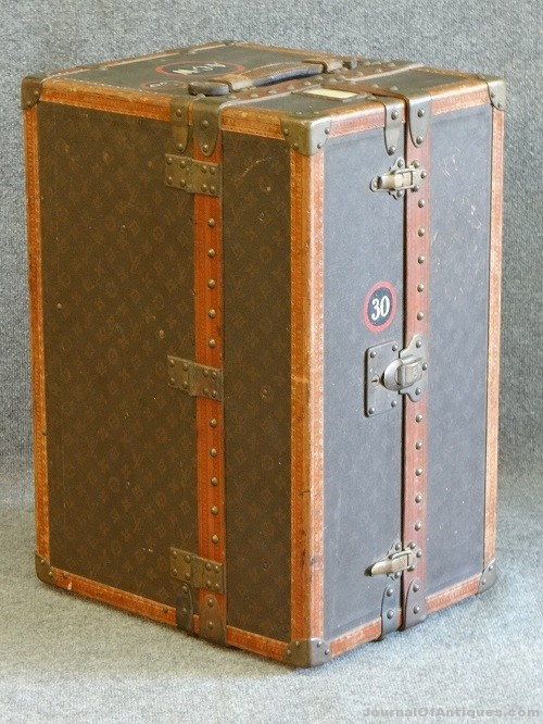 Gavels 'n' Paddles: Rare Louis Vuitton trunk, $16,100, Carlsen Gallery