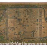 Gavels 'n' Paddles: Map of Kyoto, Japan, $93,750, Swann Auction