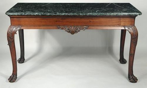 Gavels 'n' Paddles: Marble-top serving table, $41,480, Schwenke's Woodbury