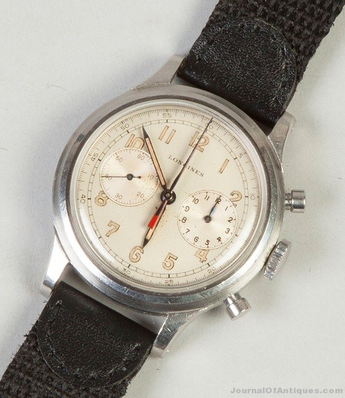 Gavels 'n' Paddles: Men's Longines watch, $50,600, Cottone Auctions