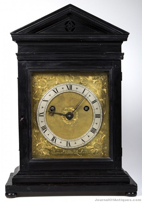 Gavels 'n' Paddles: Samuel Betts English clock, $109,250, Jeffery S. Evans