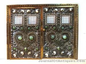 Gavels 'n' Paddles: Tiffany Studios fire screen, $60,000, S & S Auction, Inc.