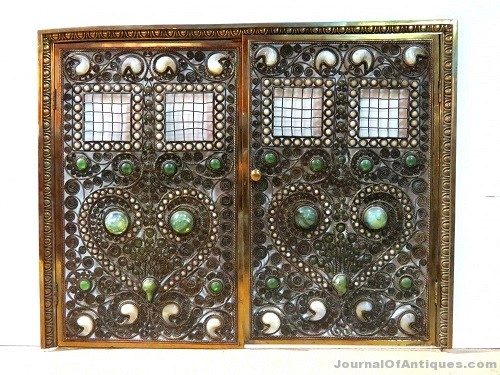 Gavels 'n' Paddles: Tiffany Studios fire screen, $60,000, S & S Auction, Inc.