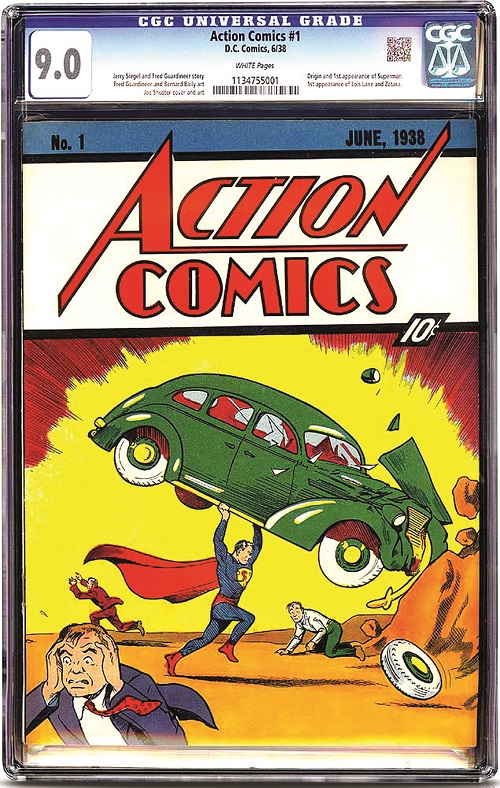 Another Action Comics #1 Record?