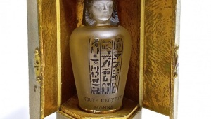 Gavels 'n' Paddles: Baccarat Egyptian bottle, $38,400, IPBA Convention