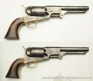 Gavels 'n' Paddles: Pair of 1857 Colt Dragoons, $54,000, Morphy Auctions