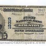 Gavels 'n' Paddles: Rare U.S. banknote, $2,513, Trader Chris