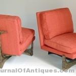 Gavels 'n' Paddles: Three Paul Evans chairs, $47,200, Briggs Auction