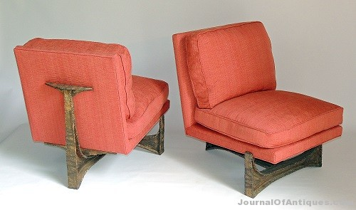Gavels 'n' Paddles: Three Paul Evans chairs, $47,200, Briggs Auction