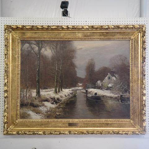 Gavels 'n' Paddles: Louis Apol oil painting, $16,000, Richard D. Hatch