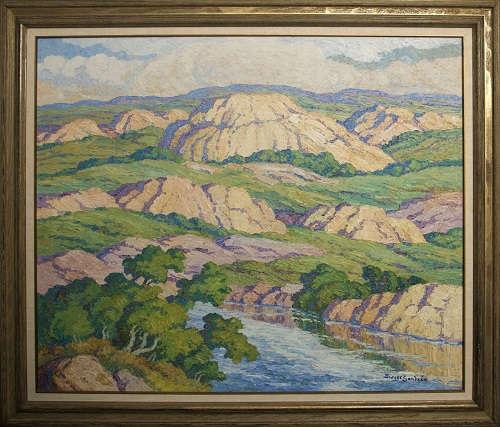 Gavels 'n' Paddles - Birger Sandzen painting, $43,125, Manitou Auctions