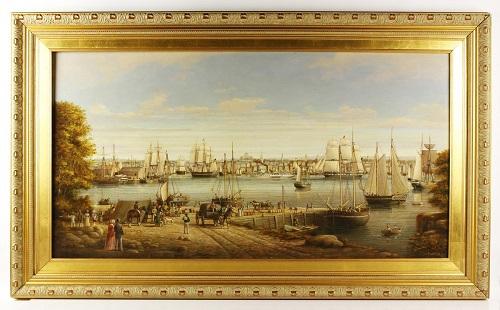 Gavels 'n' Paddles - Brian Coole oil on board, $19,800, Kaminski Auctions