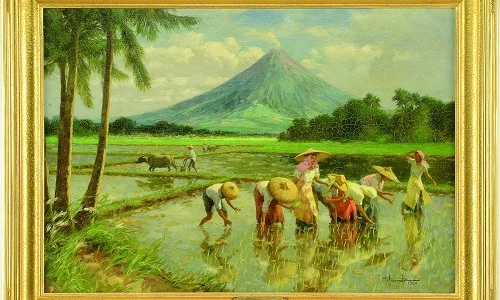 Gavels 'n' Paddles - Fernando Amorsolo oil, $100,725, James D. Julia