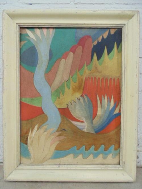 Gavels 'n' Paddles - Konrad Cramer oil, $9,000, Hudson Valley