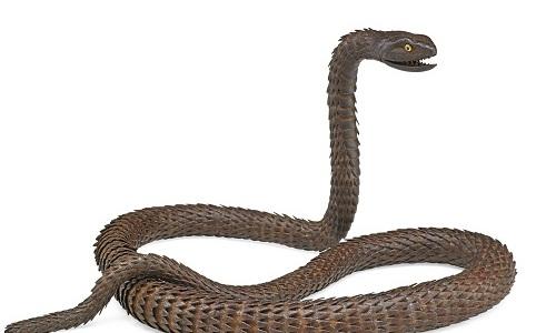 Gavels 'n' Paddles - Myochin School iron snake, $37,500, Rago Arts & Auction