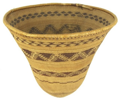 Gavels 'n' Paddles - Pomo burden basket, $23,000, Allard Auctions