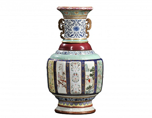 Gavels 'n' Paddles - Qing Dynasty vase, $24.7 million, Skinner