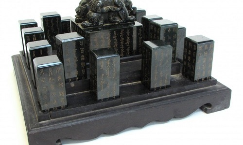 Gavels 'n' Paddles: Chinese Imperial seal box, $90,000, Gordon S. Converse